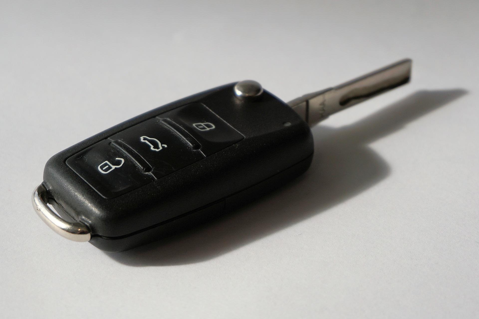 Ny bilnøgle til bilen